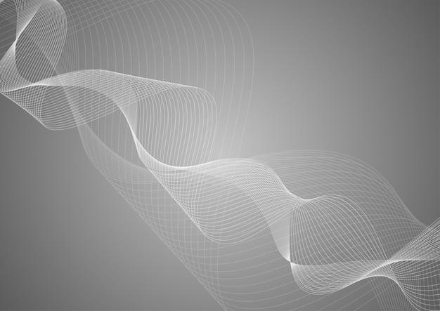 Linhas onduladas para o pano de fundo
