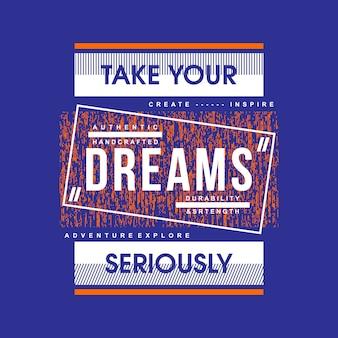 Linhas slogan abstrato design de camisa de t