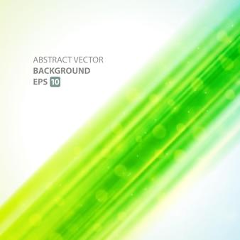 Linhas verdes nebulosas com fundo abstrato do modelo de poeira.