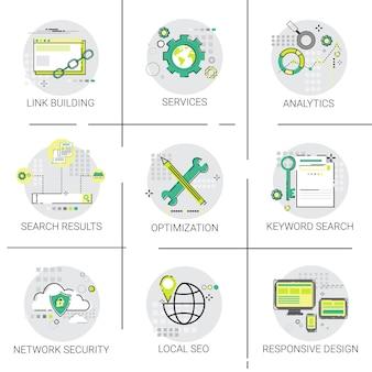 Link building seo keywording pesquisa