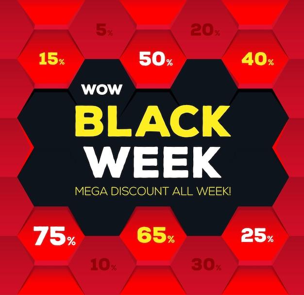 Liquidação da semana negra