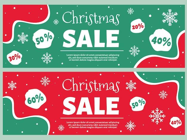 Liquidação de natal. venda de inverno.