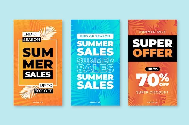 Liquidação de verão de fim de temporada