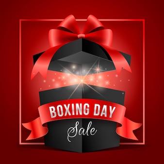 Liquidação realista do boxing day