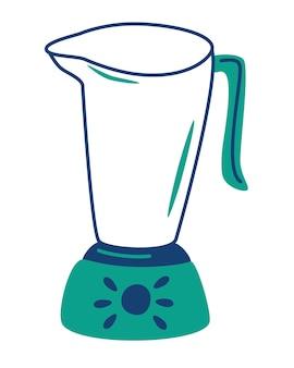 Liquidificador elétrico de cozinha, espremedor de sumos. liquidificador ou batedeira ferramenta de cozinha para cozinhar. maquina eletrica