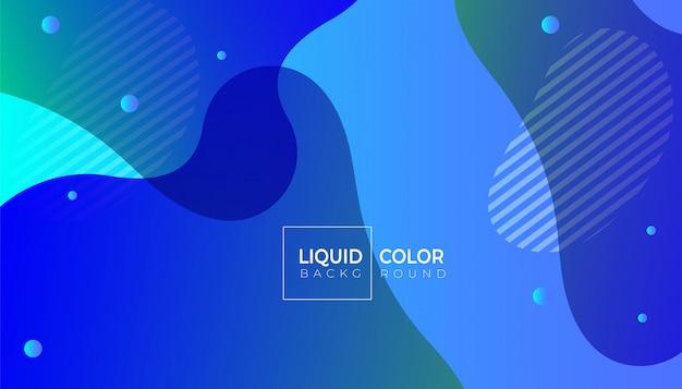 Líquido plástico fluido formas de fundo