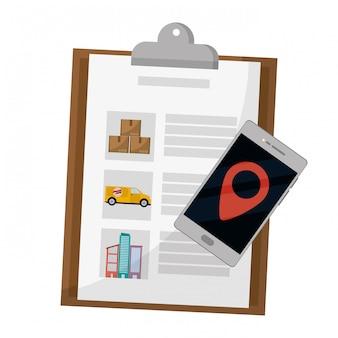 Lista de verificação e celular