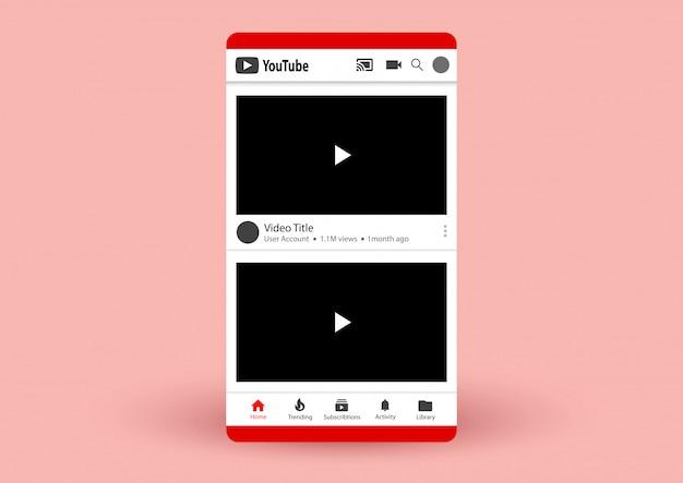 Lista de vídeos do youtube