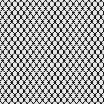 Listrado repetindo ladrilhos quadrados geométricos com losango pontilhado