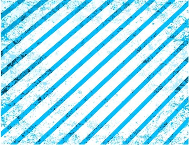 Listras azuis grunge vetoriais