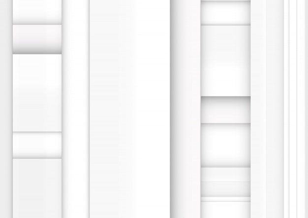Listras brancas e cinza. abstrato de tecnologia geométrica.