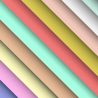 Listras gradientes pastel
