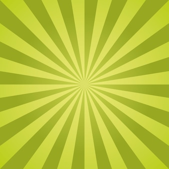 Listras radiais do padrão do natal do vetor sunburst.