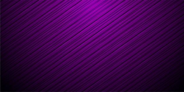 Listras retas roxas abstratas. fundo futurista de alta tecnologia Vetor Premium