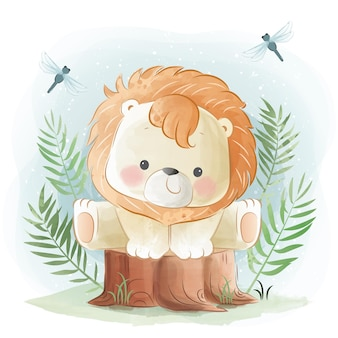 Little safari com little lion