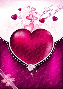 Livre valentines background