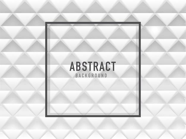 Livro branco cortado em forma de quadrado geométrico abstrato