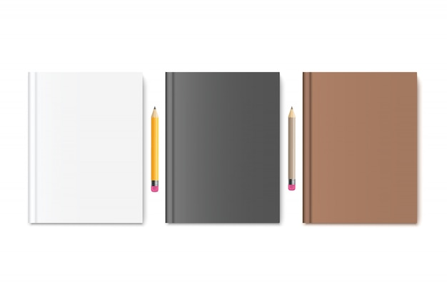 Livro com lápis