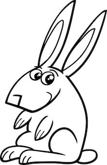 Livro de colorir para coelhos