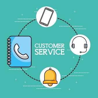 Livro de endereços fone de ouvido telefone atendimento ao cliente