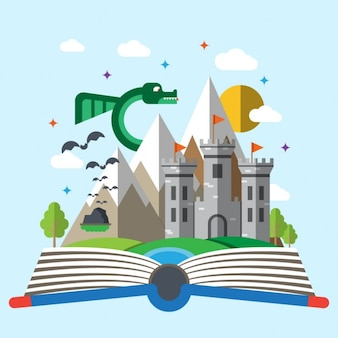 Livro de histórias crianças
