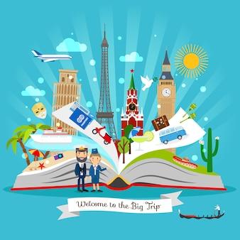 Livro de viagem