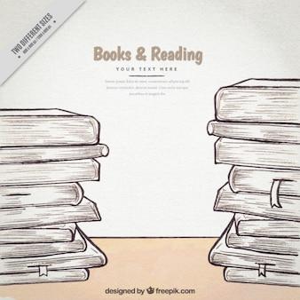 Livro esboça fundo