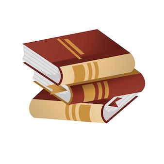 Livro ou álbum ilustração vetorial.
