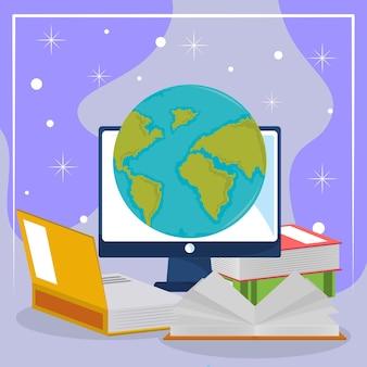Livros de alfabetização global