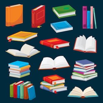 Livros de desenho animado, best-sellers ou livros escolares