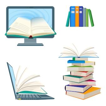 Livros de enciclopédia on-line