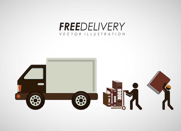 Livros de serviço de entrega