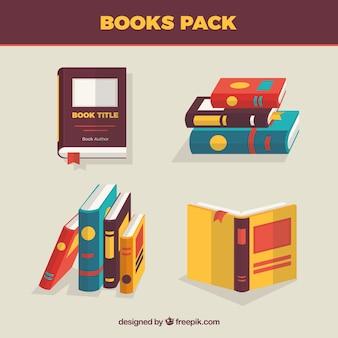 Livros embalar