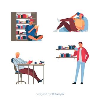 Livros para leitura e jovens