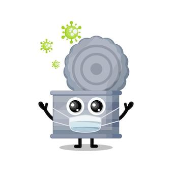 Lixo pode mascarar vírus mascote de personagem fofa