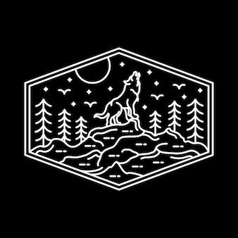 Lobo da lua cheia
