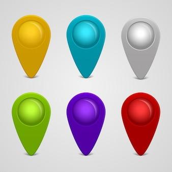 Localização buttons pack