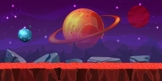 Localização do jogo espacial