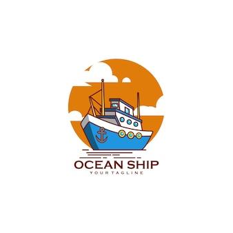 Logística de navio oceânico