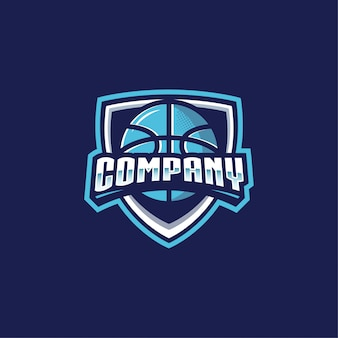 Logo basquete