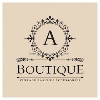 Logo boutique vintage
