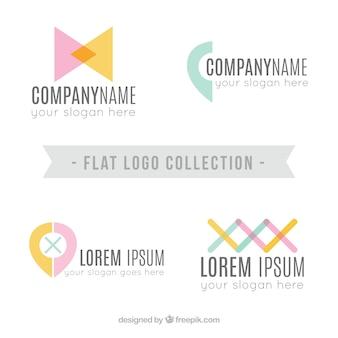 Logo collection plana