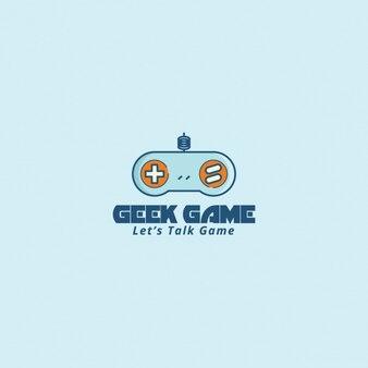 Logo com um controlador de vídeo game