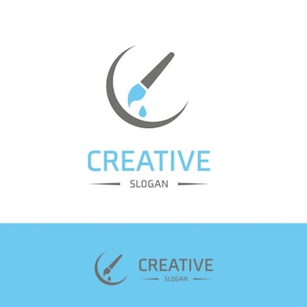 Logo creative painter