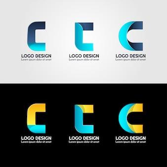Logo criativo da carta