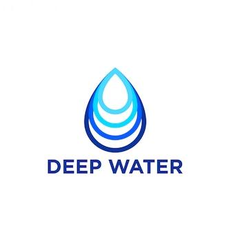 Logo de água profunda