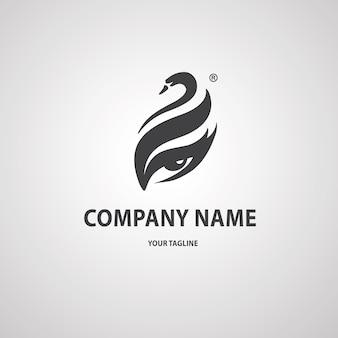 Logo de cisne