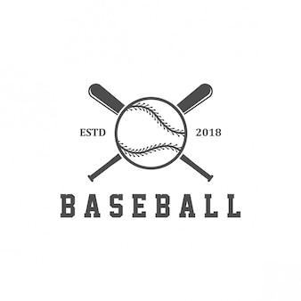Logo design de beisebol