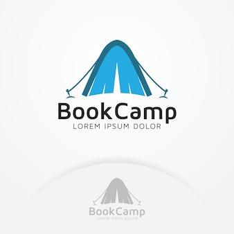 Logo do acampamento do livro