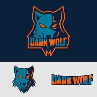 Logo do esporte darkwolf